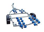 boat trailer, roller trailer,rib,pwer boat