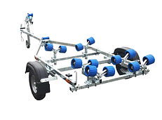 EXT400 Roller Boat Trailer Cornwall