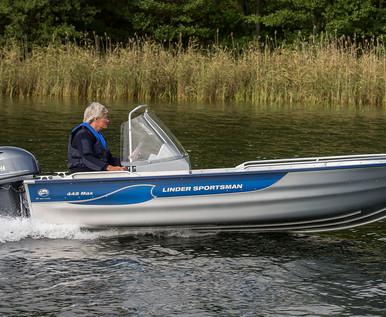 Linder Sportsman 445 Max Boat