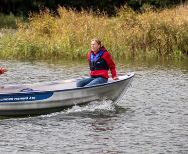 Linder Fishing 410 Boat