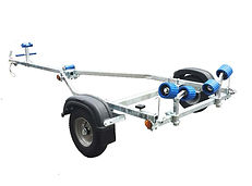 EXT300 Roller Boat Trailer Cornwall