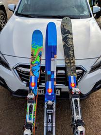 Shoulder Saver on Skis
