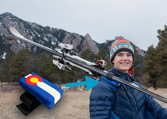 Shoulder Saver Ski Strap