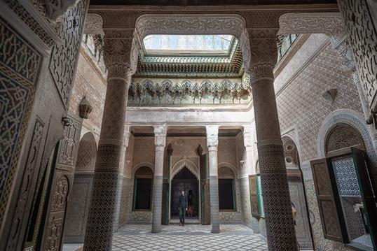 The Glaoui Kasbah in Telouet