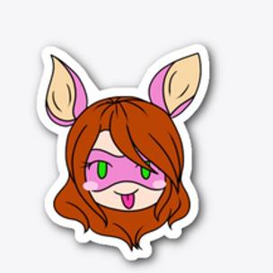 Bunnie Emoji Sticker