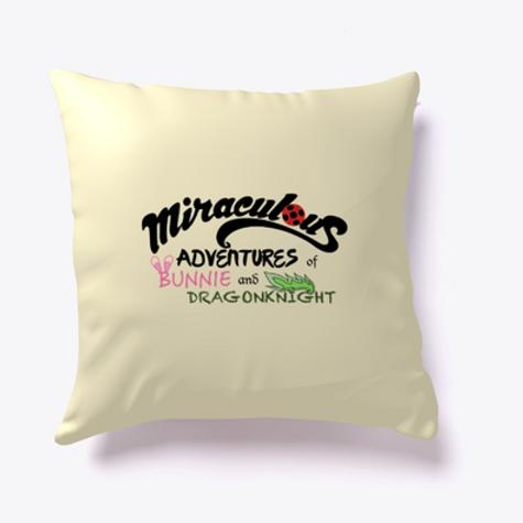 Bunnie and Dragonknight MMC Pillow