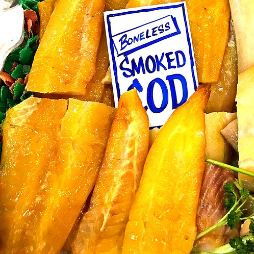 Smoked Cod Portion - Extra Large