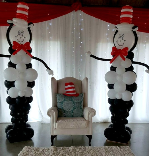 Dr Suess Themed Baby Shower