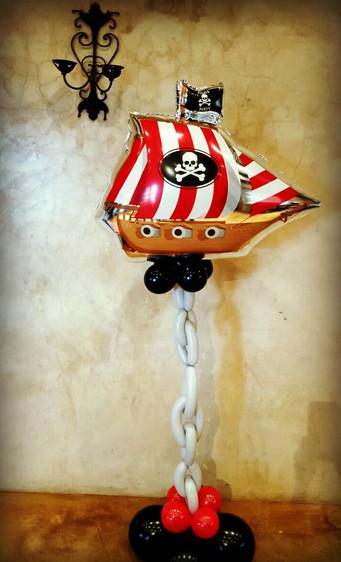 Pirate Ship & chain