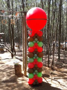 Indian Themed Pillar