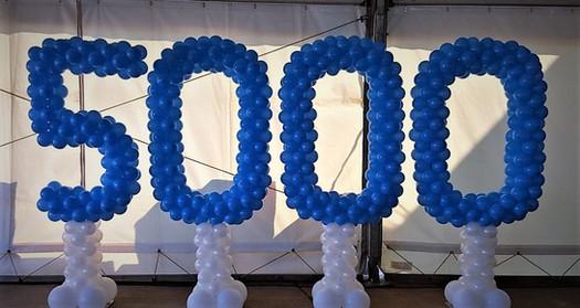 5000 Balloon Number