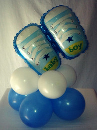 Baby Shoes Centerpiece