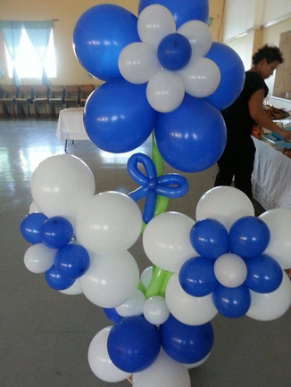 Balloon Flower Display