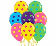 Coloured Polka Dots