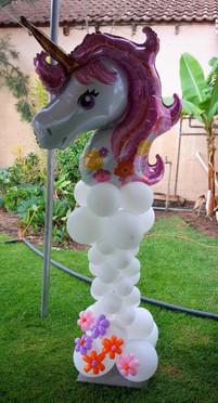 Magical Unicorn Pillar