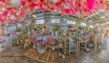 Ludwig's Roses & JC Le Roux Balloon Installation