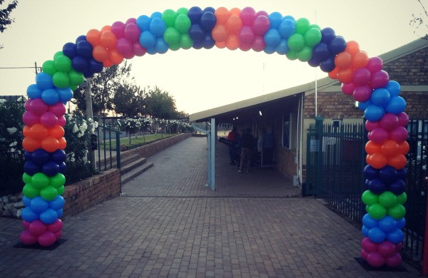 Rainbow School Arch