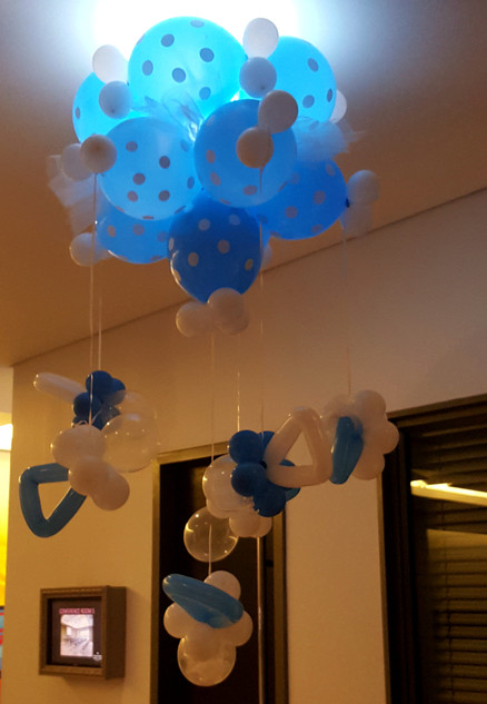 Baby Pacifier Ceiling Mobile