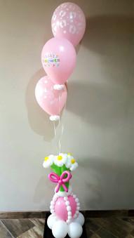 Baby Shower Flower Pot
