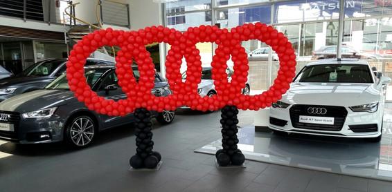 Audi Balloon Logo