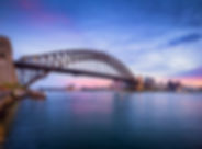 sydney-harbor-bridge-at-dusk-687864358-5