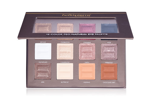 12 color eye palette - Natural