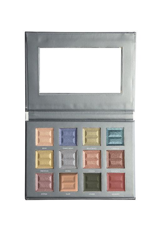 12 color eye palette - Jewel