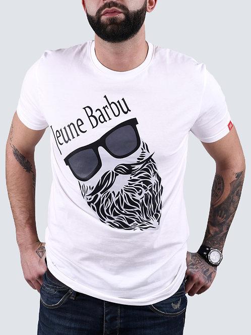 T- shirt -Sunglasses - blanc, noir