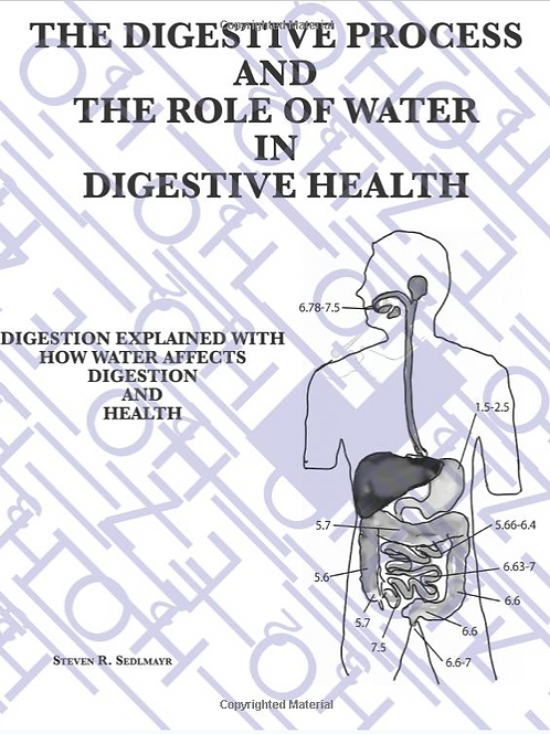 The Digestive Process Book - By Steven Sedlmayr