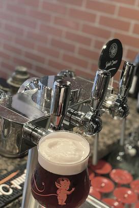 """la seule biere rouge """"belzebuth"""""""