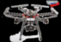 Luftaufnahmen Drohne Hexacopter