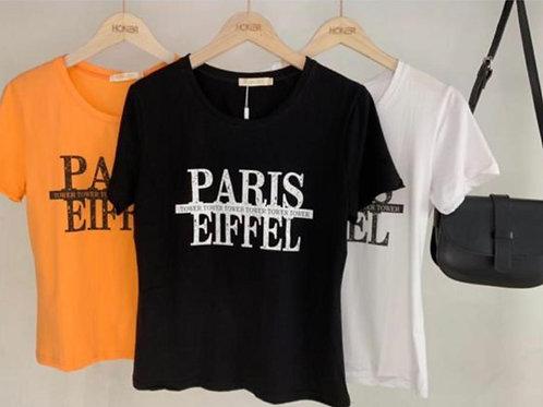 Blusão silk Paris Eiffel