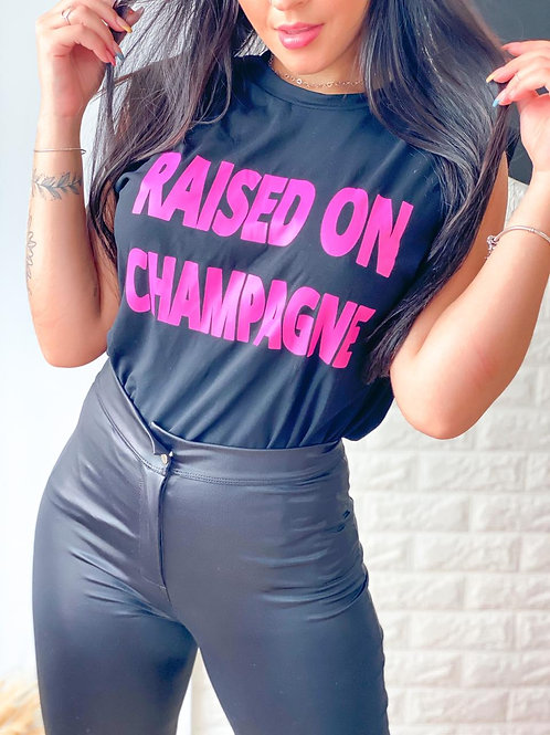 Blusa muscle tee Raised on Champagne