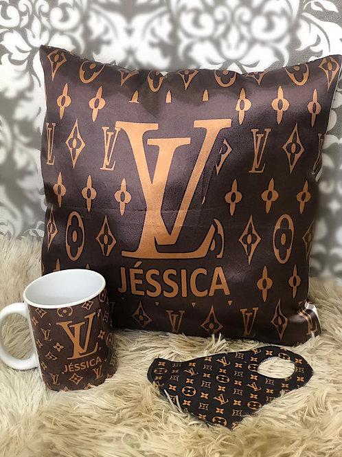 Kit Louis Vuitton personalizado