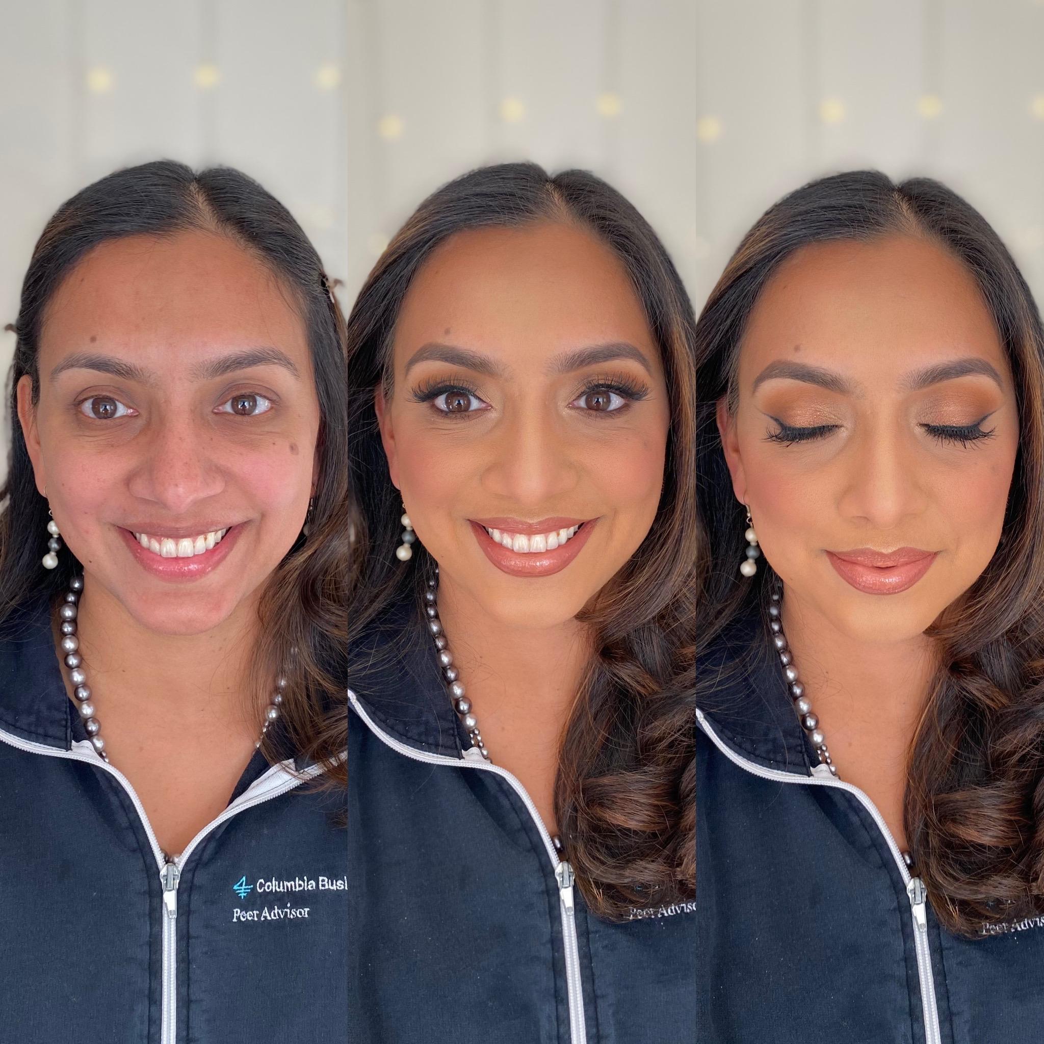 best charlottesville bridal makeup artist