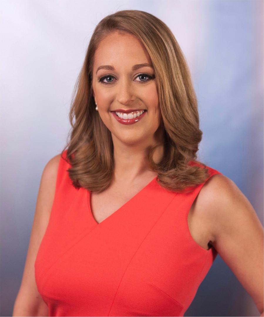 news reporter makeup for headshot