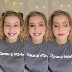 senior makeup artist richmond dc charlottesville senior portrait