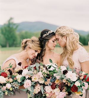boho best wedding hairstylist virginia