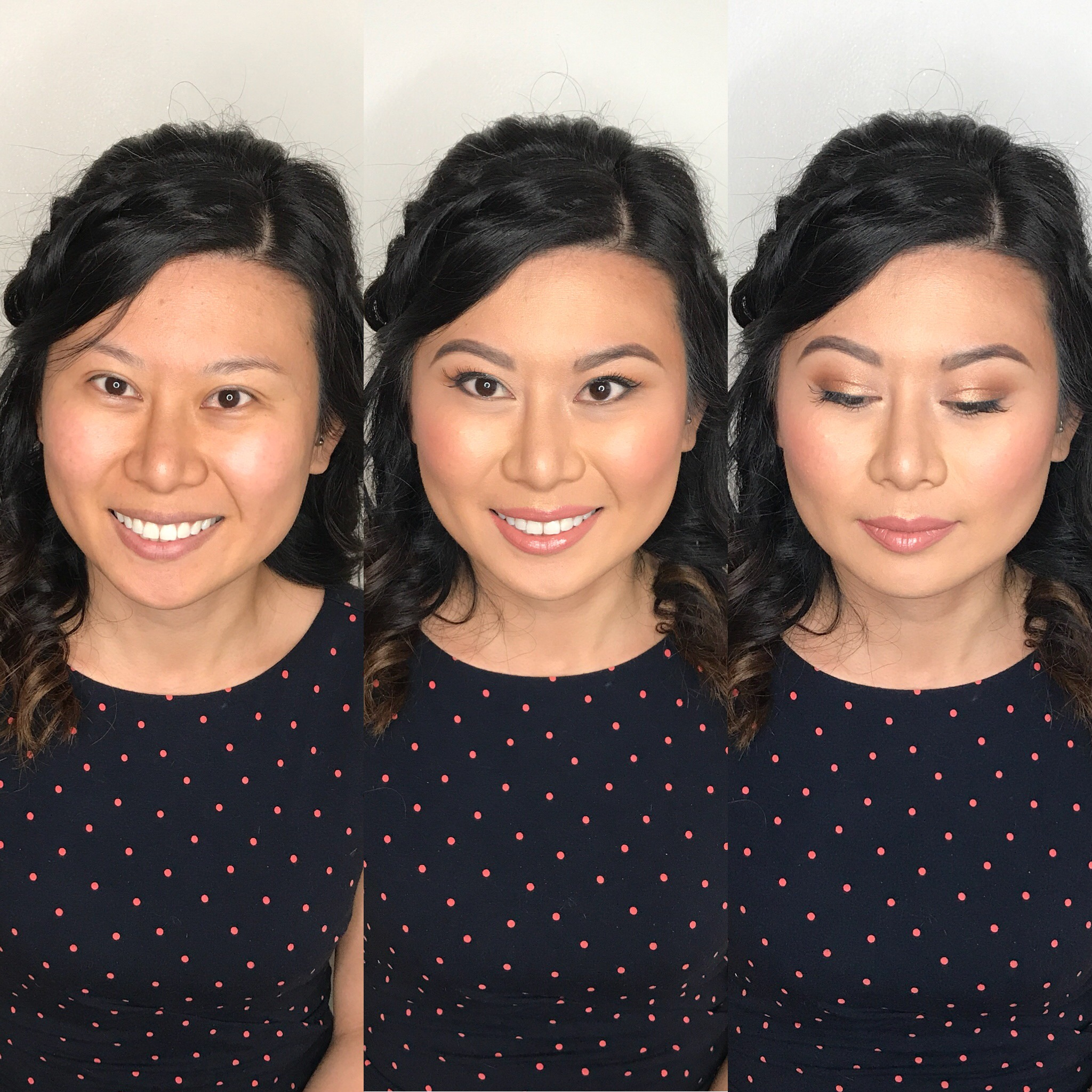 natural asian bridal makeup