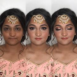Indian bride makeup artist Richmond