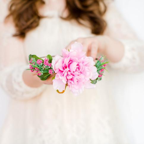 pink-fuschia-tropical-girl-floral-crown-handmade-art-craft-richmond-va-flowers