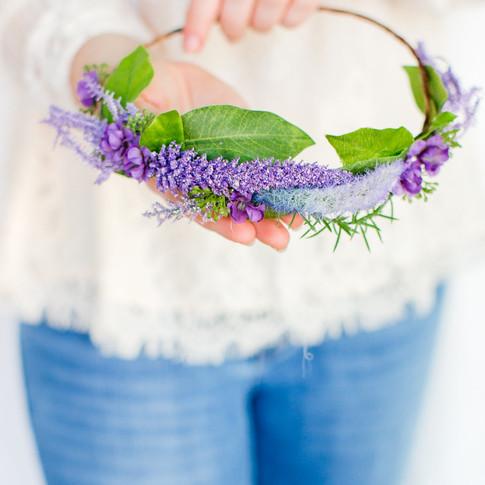 purple-floral-crown-handmade-art-craft-richmond-va-flowers