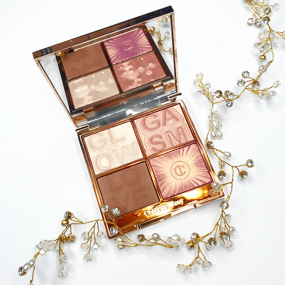 charlotte tilbury lightgasm palette best highlighter and bronzer luxury makeup