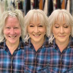 best richmond makeup artist hairstylist headshot mature skin