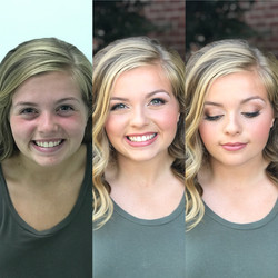 bright clean highschool makeup