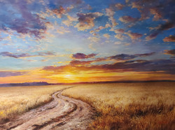Gantner, Prarie Sunset