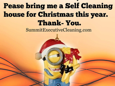 No need to get a self-cleaning house for Christmas when you have Summit Executive Cleaning.