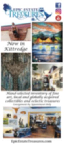 Epic Estate Treasures Rack Card Front Ju