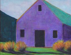 Purple Barn @ Sunset
