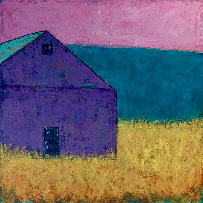 Rustic Purple Barn